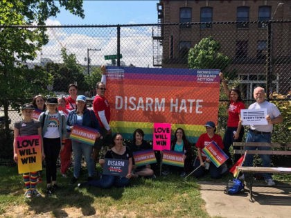 Moms Demand Action #disarmhate campaign