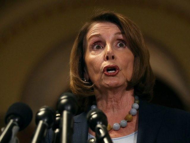 Trump kicks Nancy Pelosi when she's down