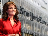 Report: Sarah Palin to Subpoena NYT Editors & Reporters, Demand 'Every Internal Communication' About Her Since 2011