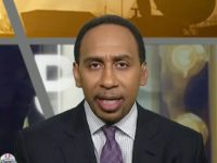 "Monday on ESPN's ""First Take,"" co-host Stephen A. Smith reacted …"