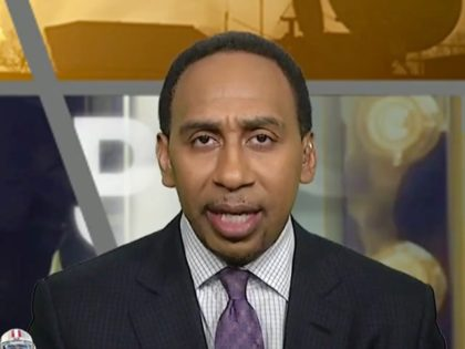 """Monday on ESPN's """"First Take,"""" co-host Stephen A. Smith reacted …"""