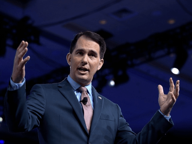 Gov. Scott Walker of Wisconsin at the Conservative Political Action Conference in February.