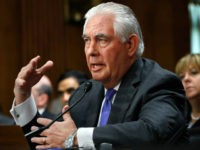 Secretary of State Rex Tillerson testifies on Capitol Hill in Washington, Tuesday, June 13, 2017, before the Senate Foreign Relations Committee. (AP Photo/Jacquelyn Martin)