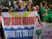 global warming climate protest