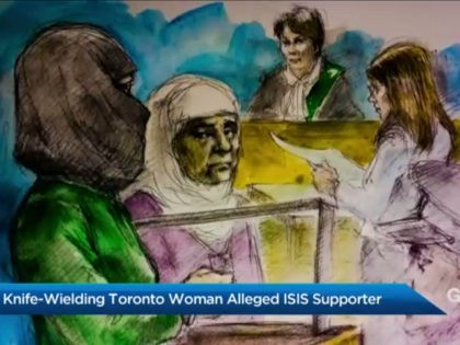 Masked Woman Screaming 'Allahu Akbar' Allegedly Attacks Toronto Tire Shop with Knife and Golf Club