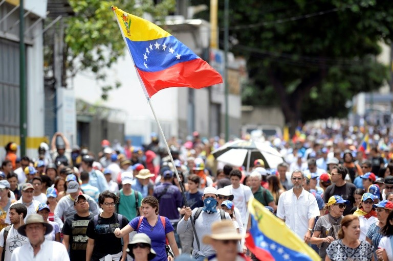 Anti-government protests like this one in Caracas on May 31 have rocked Venezuela for two months