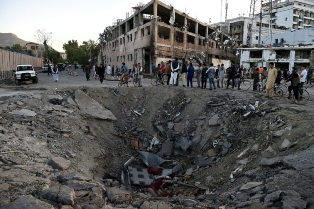 A truck bomb that ripped through Kabul's diplomatic quarter last week killed more than 150 people, Afghanistan's President Ashraf Ghani said Wednesday. The explosion blew a huge hole in the road and maimed more than 300 people.