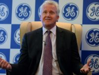 General Electric's Jeff Immelt who led the US giant since 2001 will hand his chief executive position over to John Flannery on August 1