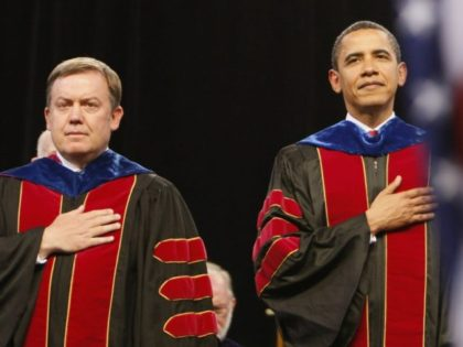 Michael Crow, Barack Obama