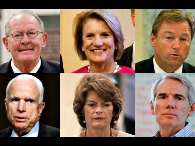 The Six Senate Republicans Who Flip-flopped in Favor of Obamacare