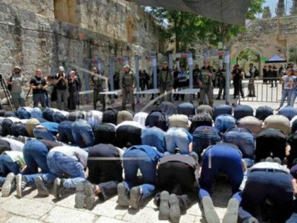 Palestinians Swarm Temple Mount In 'Victory' Over Israel's Removal Of Security Measures