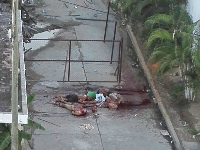 Graphic Five Beheaded In Acapulco Prison Riot Amid Dhs