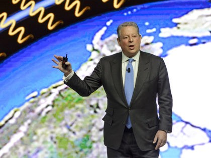 Former US Vice President Al Gore attends a session of the World Economic Forum (WEF) annual meeting on January 21, 2015 in Davos. The world's political and business elite gathered for their annual meeting in the glitzy Swiss ski resort with the shadow of recent attacks in France and ongoing …
