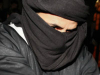 In this March 15, 2010, file photo, Ali Charaf Damache arrives at the courthouse in Waterford, Ireland. Damache, an al-Qaida suspect known as Black Flag who has been linked to a plot to kill Swedish cartoonist Lars Vilks, appeared in federal court in Philadelphia on Friday, July 21, 2017, after he was brought from Spain to face terrorism charges. (AP Photo/Peter Morrison, File)