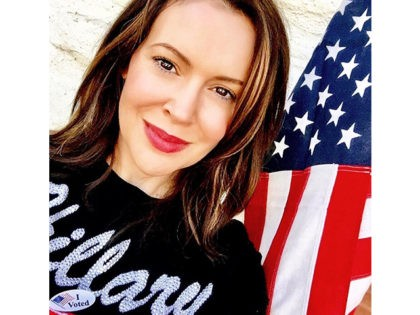 Alyssa Milano Launches 'Patriot Not Partisan' Project to Hold Trump 'Accountable' for Russian 'Collusion'