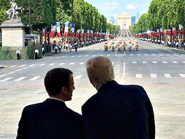 Bastille Day Twitter@thereallDonaldTrump