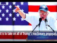 Bernie Speaking