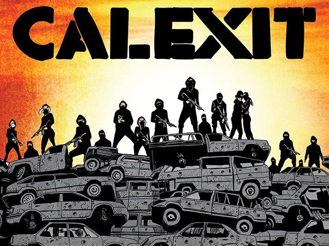 'Calexit' Comic Book Imagines California in Full-Scale Revolt Against Trump Administration
