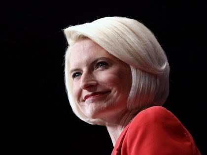 WASHINGTON, DC - FEBRUARY 10: Callista Gingrich introduces her husband, Republican presidential candidate and former Speaker of the House Newt Gingrich, during the Conservative Political Action Conference (CPAC) at the Marriott Wardman Park February 10, 2012 in Washington, DC. Thousands of conservative activists are attending the annual gathering in the …