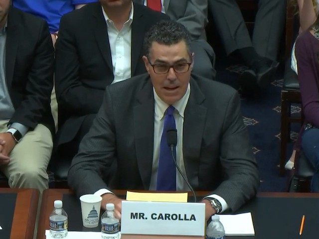 Adam Carolla to Congress on Free Speech: If We Had Order on Campus, Then We Wouldn't Need Law