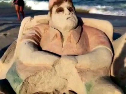 Christi Sand Sculpture @brian4NY