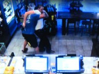Starbucks customer Cregg Jerri took down alleged armed robber Ryan Flores, according to police.