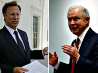 Dave Brat-Jeff Sessions AP Photos