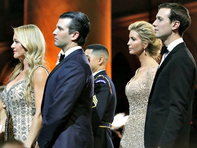 Don Jr, Jared K, Wives Chip SomodevillaGetty