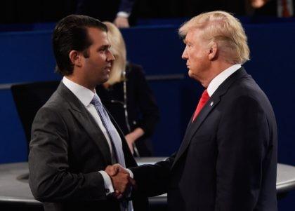 Donald Trump Jr. and Donald Trump (Saul Loeb / Getty)