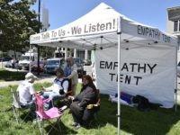 Empathy Tent (Daniel McPartlan / Twitter)