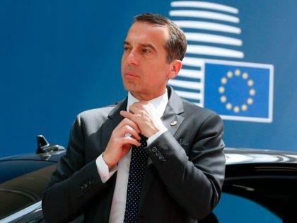 Austrian Chancelor Christian Kern