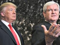 Newt Gingrich: 'Miracle' Trump Still Standing Despite Negative Media