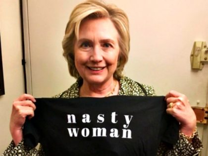 Hillary Nasty Woman Shirt @HillaryClinton