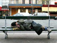 Homeless on Bench US Dept. of Veterans Affairs