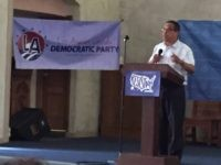 Keith Ellison at Resistance Summer Los Angeles (Joel Pollak / Breitbart News)