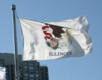 Illinois state flag (Anita Lambert / Flickr / CC / Cropped)