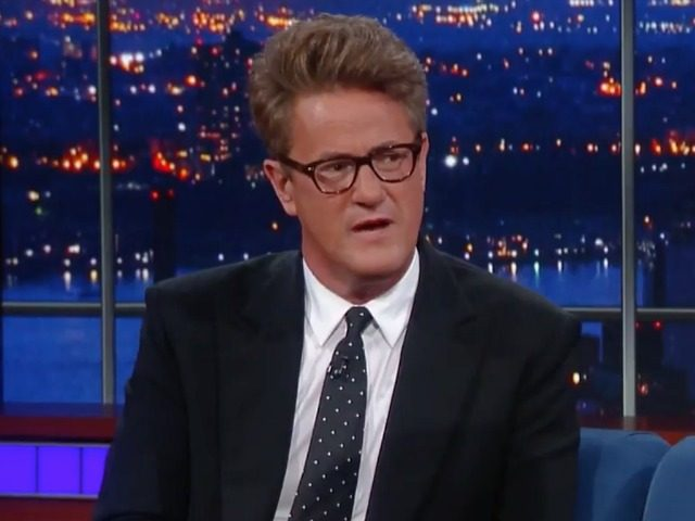 Joe Scarborough CBS Colbert