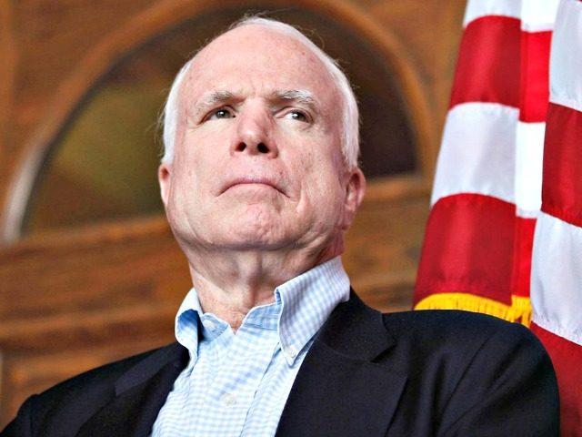 John McCain Samantha SaisReuters