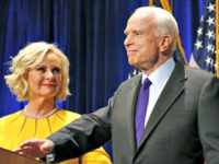 John and Cindy McCain AP PhotoRoss D. Franklin