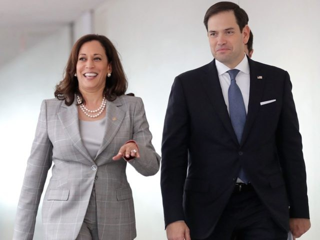 Kamala Harris and Marco Rubio (Chip Somodevilla / Getty)