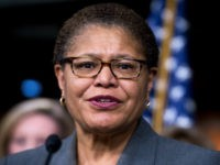 Democrat Rep. Karen Bass: I'll Support Impeachment Again if Trump Reelected