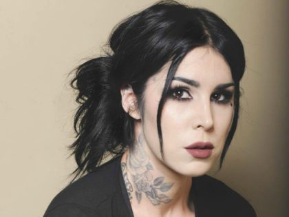 Tattoo artist and makeup brand entrepreneur Kat Von D