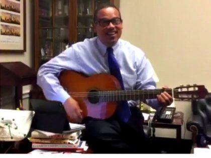 Keith Ellison Sings for 15