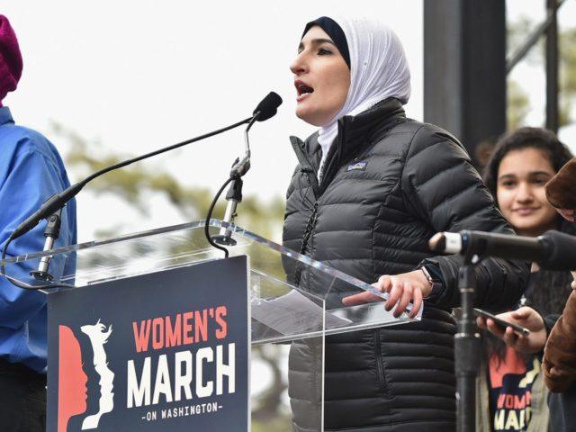 Linda Sarsour Women's March (Theo Wargo / Getty)