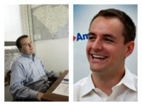 Collage of Matt Rhoades and Robby Mook
