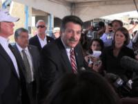 Mayor Pete Saenz with Trump