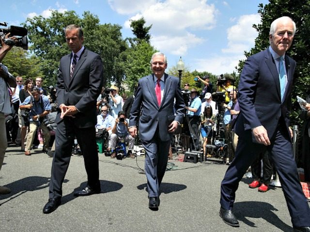 Mitch McConnell Leaving WH Lunch Alex WongGetty