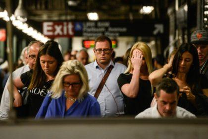 NY Subway Riders Getty