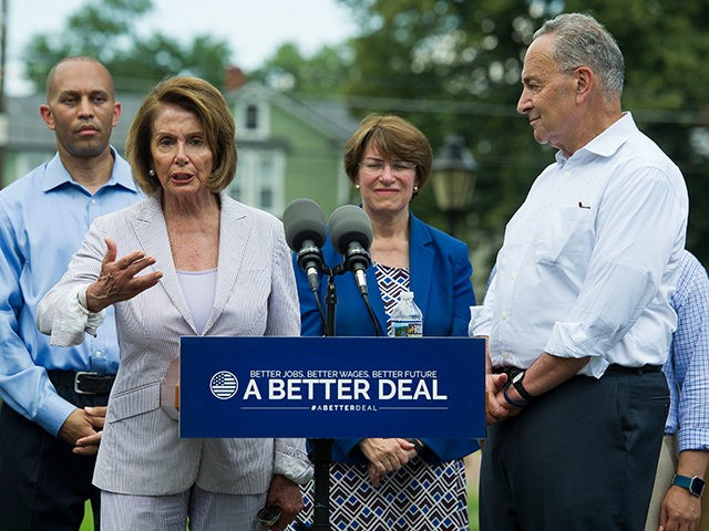 Nancy-Pelosi-Chuck-Schumer-Berryville-VA-Better-Deal-AP