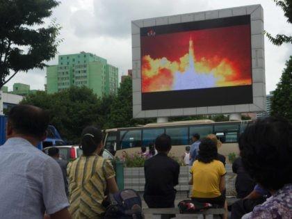 North Korea missile launch (Kim Won-jin / AFP / Getty)